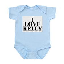 I Love Kelly Infant Creeper
