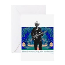 Blues Greeting Card