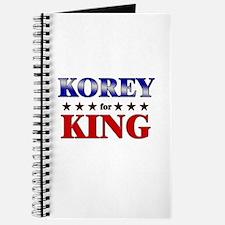 KOREY for king Journal