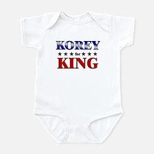 KOREY for king Infant Bodysuit