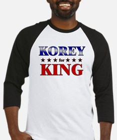 KOREY for king Baseball Jersey