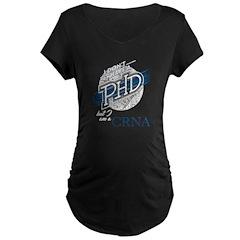 18-1 Women's Plus Size V-Neck Dark T-Shirt