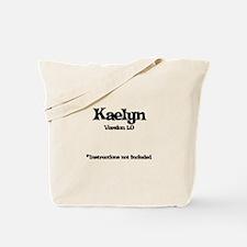 Kaelyn - Version 1.0 Tote Bag