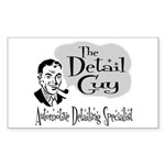 The Detail Guy Rectangle Sticker