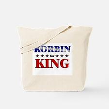 KORBIN for king Tote Bag