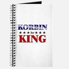 KORBIN for king Journal