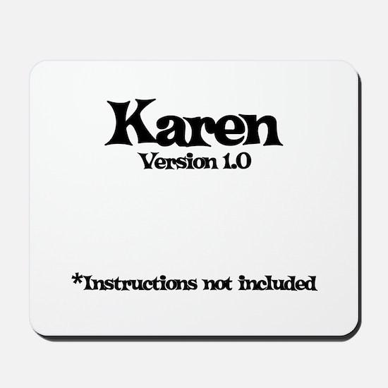 Karen - Version 1.0 Mousepad