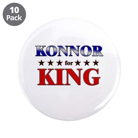 "KONNOR for king 3.5"" Button (10 pack)"
