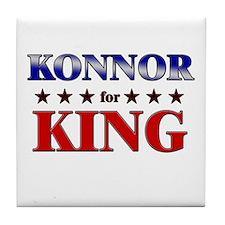 KONNOR for king Tile Coaster