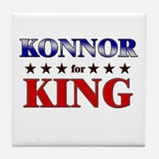KONNOR for king Tile Coaster