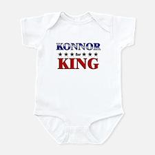 KONNOR for king Infant Bodysuit