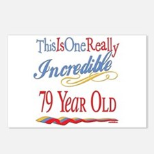 Incredible At 79 Postcards (Package of 8)