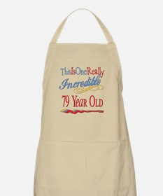 Incredible At 79 BBQ Apron