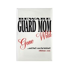 Moms Gone Wild Rectangle Magnet