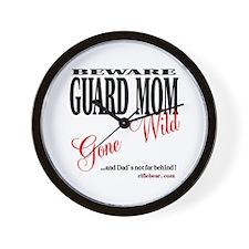 Moms Gone Wild Wall Clock