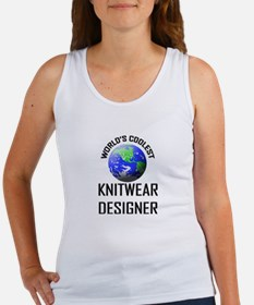 World's Coolest KNITWEAR DESIGNER Women's Tank Top