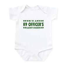 K9 Officer's Lucky Charm Infant Bodysuit