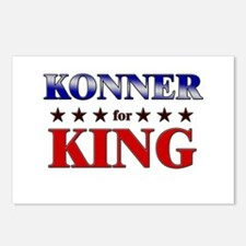 KONNER for king Postcards (Package of 8)