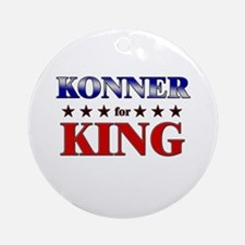 KONNER for king Ornament (Round)