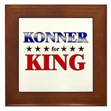 KONNER for king Framed Tile