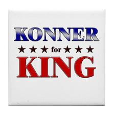 KONNER for king Tile Coaster