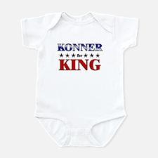 KONNER for king Infant Bodysuit