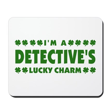 Detective's Lucky Charm Mousepad