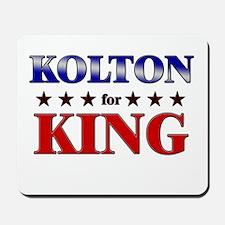 KOLTON for king Mousepad