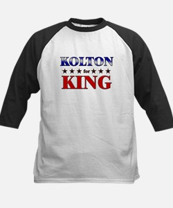 KOLTON for king Kids Baseball Jersey