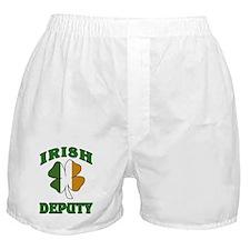 Irish Deputy Shamrock Boxer Shorts