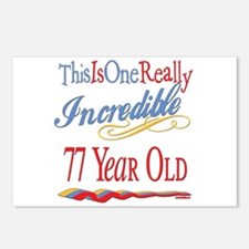 Incredible At 77 Postcards (Package of 8)
