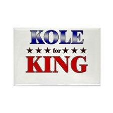 KOLE for king Rectangle Magnet