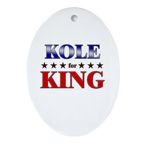 KOLE for king Oval Ornament
