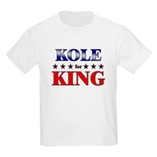 KOLE for king T-Shirt