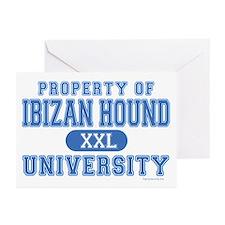 Ibizan Hound University Greeting Cards (Pk of 20)