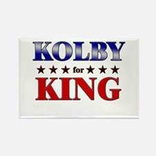 KOLBY for king Rectangle Magnet