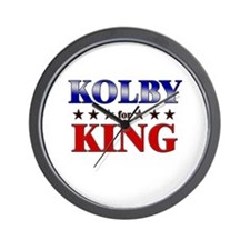 KOLBY for king Wall Clock