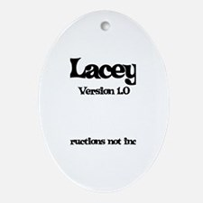 Lacey - Version 1.0 Oval Ornament