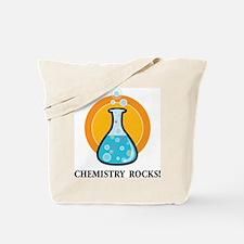 Chemistry Rocks Tote Bag