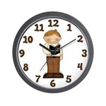 Bible Boy Wall Clock