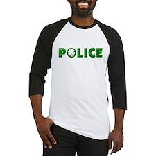 Green Police Baseball Jersey