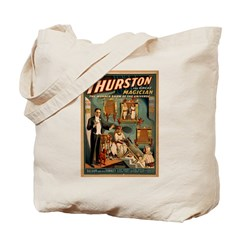Thurston The Great Magician. Tote Bag