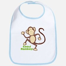 Good Monkey Bib