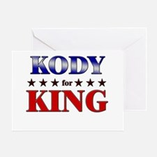 KODY for king Greeting Card