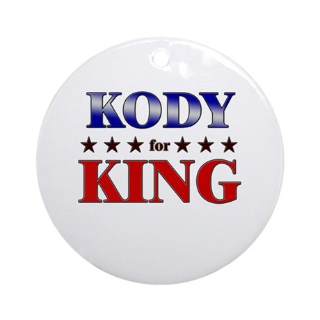 KODY for king Ornament (Round)