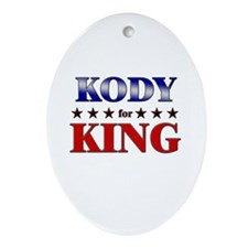 KODY for king Oval Ornament