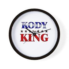 KODY for king Wall Clock