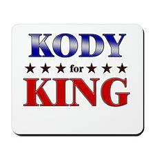 KODY for king Mousepad