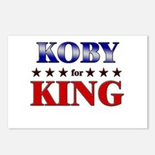 KOBY for king Postcards (Package of 8)