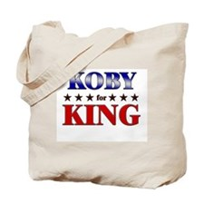 KOBY for king Tote Bag